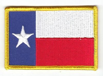 Aufnäher USA - Texas Patch Flagge Fahne