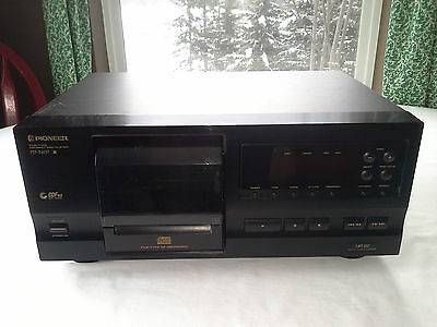 Pioneer PD-F407 25 Disc Changer File Type Compact Disc CD Player TESTED