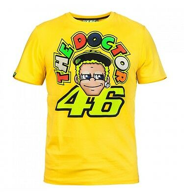 Camiseta T-shirt Chico Valentino Rossi VR46 The Doctor VRMTS204801