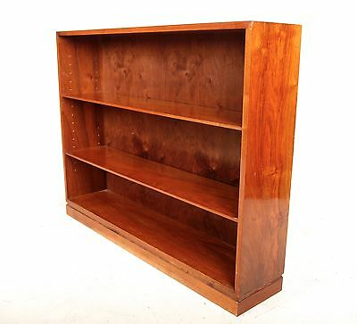 Vintage Bookcase Danish Bookshelves Large Library Open Bookcase Mahogany Rosewoo