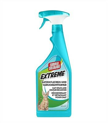 Simple Solution EXTREME Cat Stain & Odour Remover 750ml trigger spray