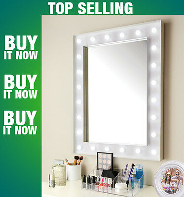 Top Qulity Hollywood 24 LED Bulb Mirror 60 x 80  Free Fast Tracked Delivery