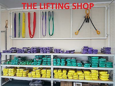 (4 pack) 1 T x 2 M Round lifting Sling Rigging (pack of 4 slings) Roundsling