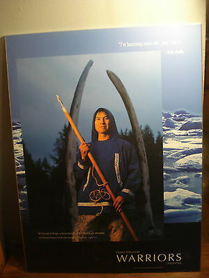 2003 Indian Athabaskan Northern Traditions Fritz Geffe Mounted poster Quote