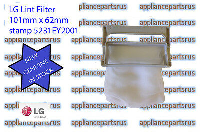 LG Washing Machine Lint Filter 5231FA2239K also known as 5231EY2002A - GENUINE