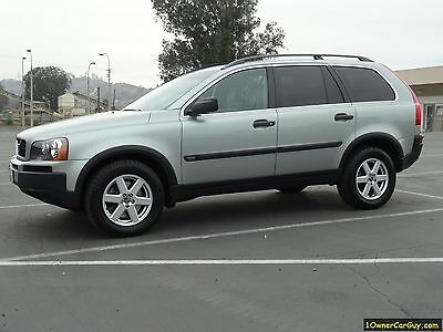 2005 Volvo XC90 Turbo 2005 Volvo XC90 T6 2.5L Turbo Crossover SUV Loaded 1 Owner
