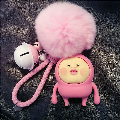 Kobito Doll Model Keychain Pendant Ball Top Bag Pendant Small Bell