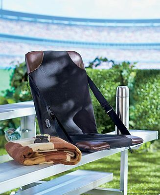 Heated Stadium Seat cushion bench cover fishing hunting Therapeutic seat warmer