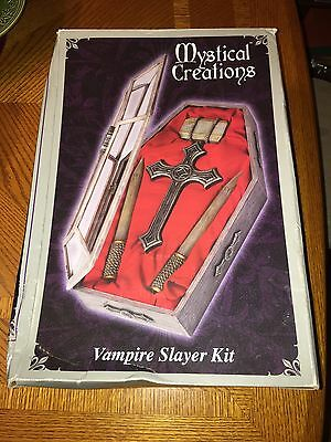 Mystical Creations Vampire Slayer Kit Spencers Gifts RARE