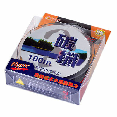 100M Fluorocarbon Line Fishing Line Super Strong Saltwater & Freshwater