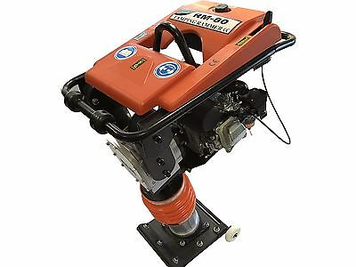 7Hp Epa/carb Gas Impact Rammer Jumping Jack Tamping Ram Compactor With Wheel