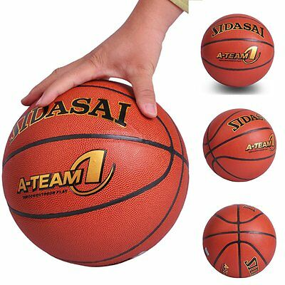 For Children Teenager Basketball Dunking Hero Sports Mate Durable Size 7