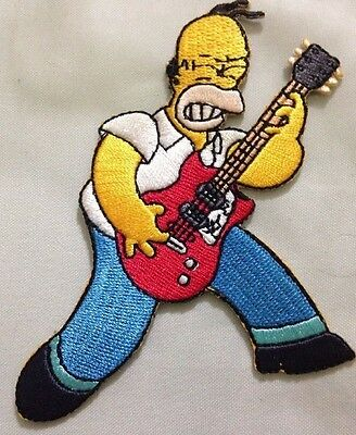 The Simpsons Homer Guitar Patch 3.5""