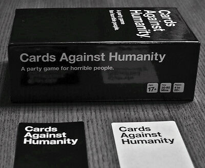 A Party Game Cards Humanity Games: UK US AU edition - Original Game, BRAND NEW