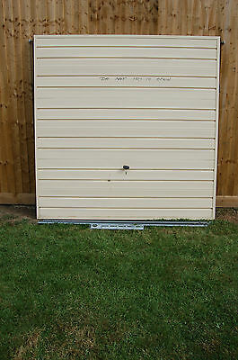 Henderson Merlin 7' by 7' Tracked Up and Over Garage Door with Keys