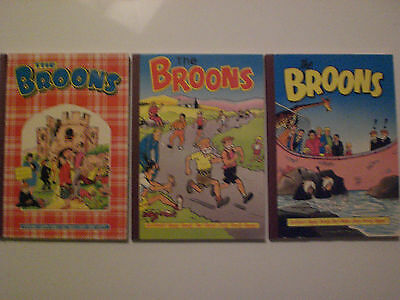The BROONS  ANNUALS 1985,1987,1989