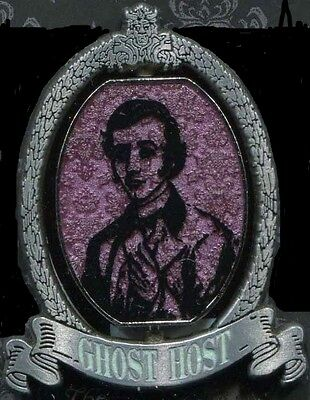 Haunted Mansion Ghost Host Spinner Master Gracey Disney Pin 103337