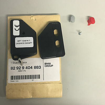 Bmw E36 E32 E34 3 Series Alarm Remote Fob Key Replacement Case Cover 2 Button