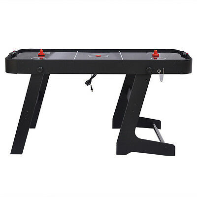 HLC 5FT Foot Folding Air Hockey Table Sports Gaming Table for Kid Christmas Gift