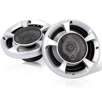 "Car Vehicle MaxTurbo 6.5"" Inch Car Speakers LED Light Max 500W 3-Way Audio Pair"