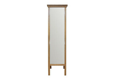 Somerby Oiled Oak Bedroom Furniture Long Cheval Mirror