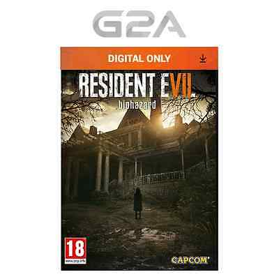 Resident Evil 7 / Biohazard VII Key [PC Game] STEAM Download Code [UK] [EU] NEW