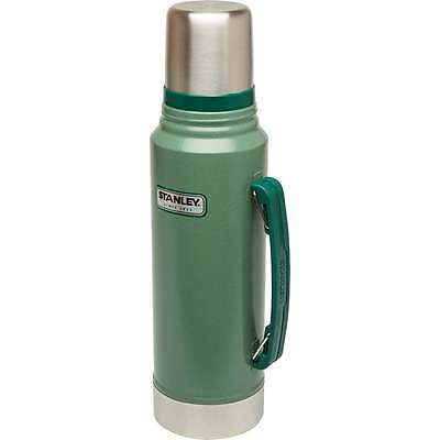 Stanley Classic Coffee Thermos Vacuum Bottle 1.1 Quart Stainless Steel Hammerton