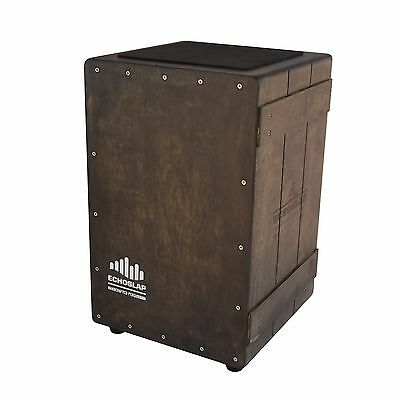 Echoslap VC201-US Vintage Crate Cajon - Vintage Dark - Adjustable Snare