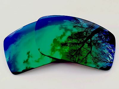 New Polarized Green Custom Mirrored Replacement Oakley Gascan Lenses
