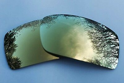 New Polarized 24K Gold Mirrored Replacement Oakley Gascan Lenses