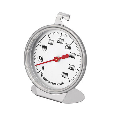 Stainless Steel Oven Cooker Thermometer Temperature Gauge 0-400 °C