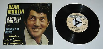 """Dean Martin A Million And One 7"""" Single EP - EX"""