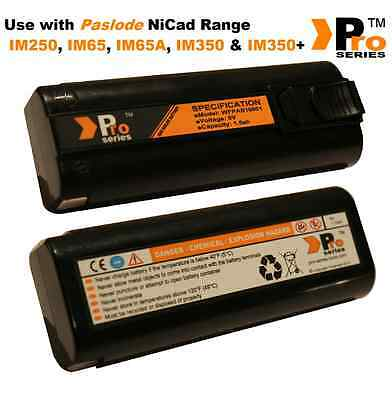 2 xPro Series replacement batteries 6v 1.5ah for paslode im350/350+/65/65A  01