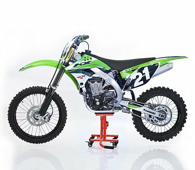 Motorrad Heber Moto Cross,Enduro,Trial,Supermoto Rangierhilfe Lift Heber orange