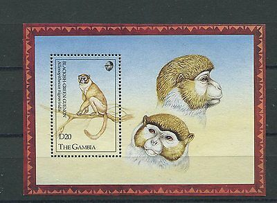 Gambia 1993 BF 178 animali dell'Africa MNH