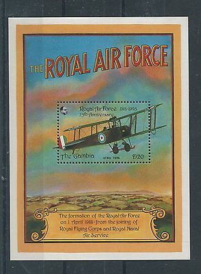 Gambia 1993 BF 183 anniversario Royal Air Force MNH