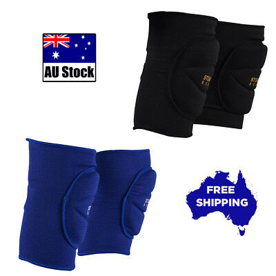 Elastic Cotton Knee Guard Mma Boxing Protection Gym Support