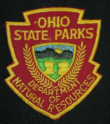 OHIO STATE PARKS☆DEPARTMENT OF NATURAL RESOURCES Patch
