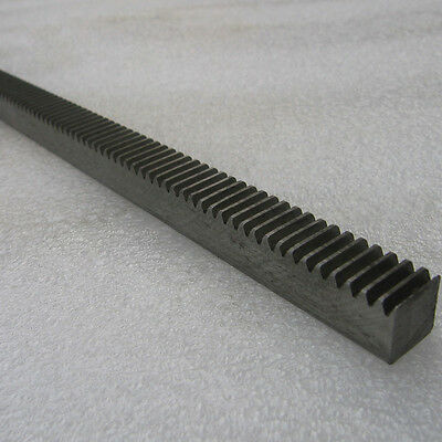 1PCS 1 Module 12/16mm Width Metal Rack Gear Motor Gear Rack For CNC