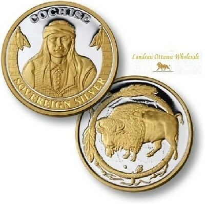 Cochise Gold Select Silver Coin