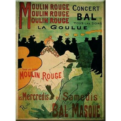 Vintage Metal Sign Moulin Rouge Paris Dance French Plaque Gift Picture Wall Art