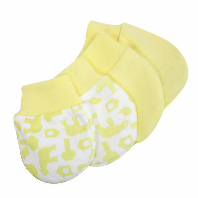 No Scratch Mittens for baby's, newforms & infants│2 pack│0 months +