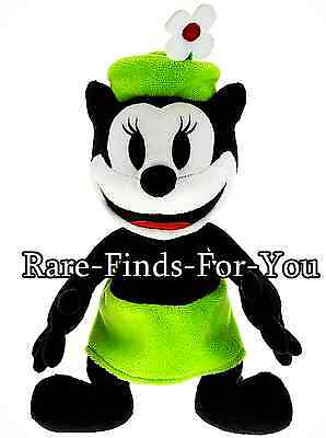 """Disney Parks """"Ortensia the Cat"""" Girlfriend of Oswald Plush Doll Toy 9"""" H (NEW)"""