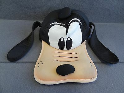 Disney Parks Official Goofy Hat Ball Cap World Land Authentic Original Black