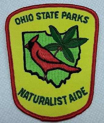 OHIO STATE PARKS☆NATURALIST AIDE Patch