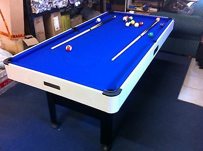 KIDS PowerGlide 6' x 3' Pool Billiard Table + Accessories! Pick Up Lismore NSW