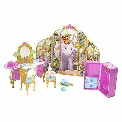 Barbie K8124 As The Island Princess Getting Ready W/ Tallulah Playset