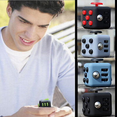 Fidget Cube 6-side Dice Toy Anxiety Stress Relief Focus Magic Cube Toy For Fun