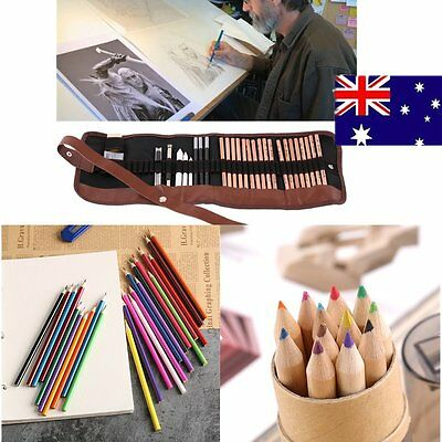 Colored Pencils 24/12//29 PCS Art Colors Drawing Pencils for Artist Sketch GT