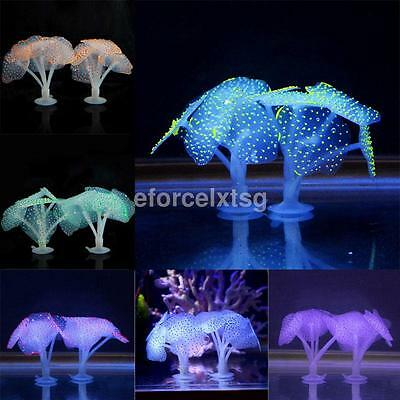 Magic Fluorescence Coral Ornament Aquarium Home Decor Fish Tank Accessories Hot